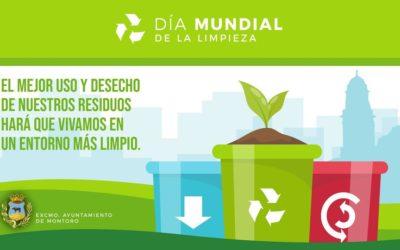 Día 19 de septiembre: Día Mundial de la #Limpieza