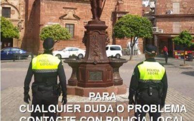 La Policía Local colaborará con la Junta de Andalucia  en la vigilancia activa de los confinados por positivo