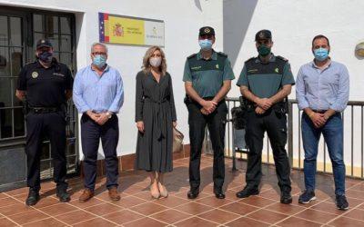 El Ayuntamiento de Montoro ha mantenido una reunión con el Teniente Coronel de  la Comandancia de Córdoba de la Guardia Civil y Policía Local de Montoro para tratar varios temas que nos preocupan a la ciudadanía.