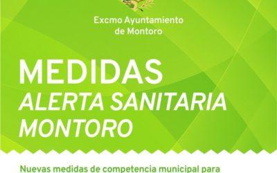 Medidas adoptadas por el Ayuntamiento de Montoro