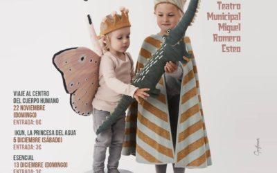 Programación de teatro infantil y familiar