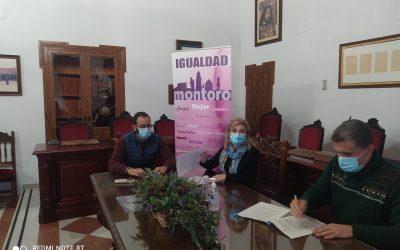 Firma del convenio 2020 entre el Excmo. Ayuntamiento de Montoro  y el club DE tenis montoro