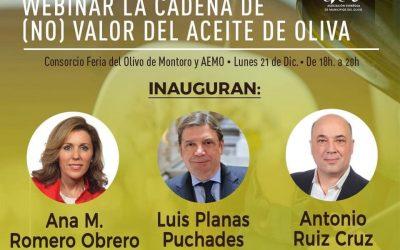 Ponemos cara a los ponentes de la Webinar, «La Cadena de (no) Valor del Aceite de Oliva»