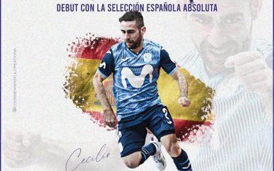 El montoreño Cecilio Morales entra en la convocatoria de la Selección Española