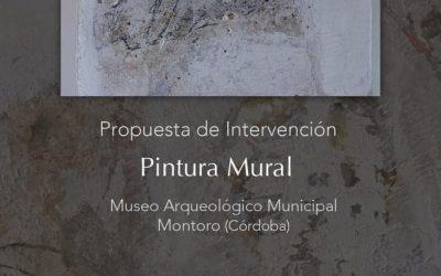 INICIO DE LA RESTAURACIÓN DE LA PINTURA DEL MUSEO ARQUEOLÓGICO DE MONTORO