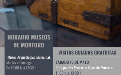 HORARIOS MUSEOS DE MONTORO