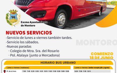 Activo el servicio de autobús urbano gratuito en Montoro