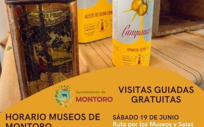 horario museos de montoro y visitas guiadas gratuitas