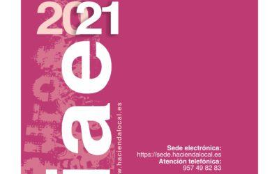 IMPUESTO DE ACTIVIDADES ECONOMICAS 2021
